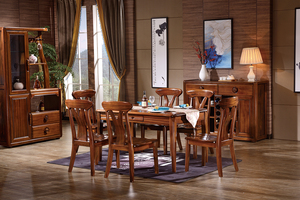 虎斑木餐厅家具